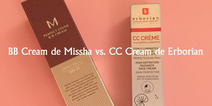 BB Cream Missha vs. CC Cream Erborian