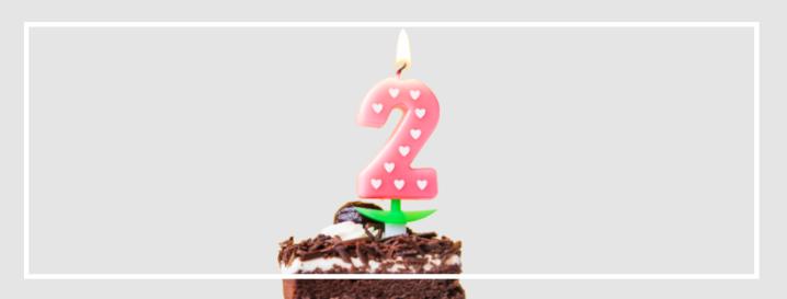 ¡Dos años!