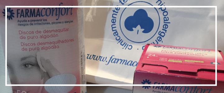 Farmaconfort y sus productos 100%algodón